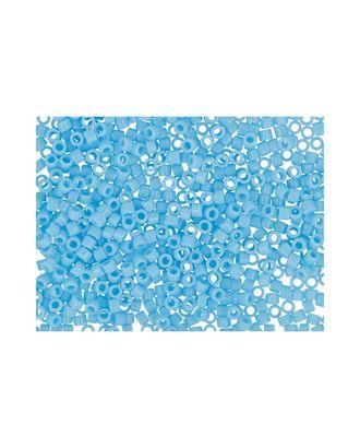 """Бисер Япония """"TOHO"""" 11/0  TREASURE №1  1.6 мм 5 х 5 г №0043 голубой арт. МГ-60257-1-МГ0678304"""