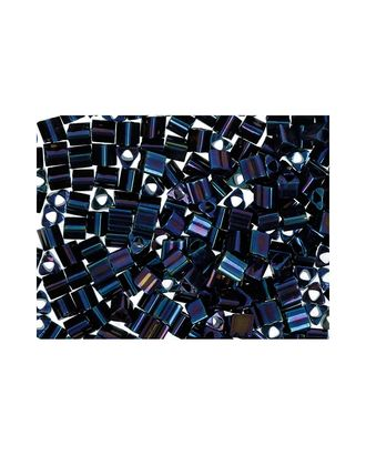 """Бисер Япония """"TOHO"""" 11/0  TRIANGLE №3  2.2 мм 5 х 5 г №0082 синий арт. МГ-60311-1-МГ0678358"""