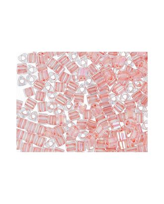 "Бисер Япония ""TOHO"" 11/0  TRIANGLE №3  2.2 мм 5 х 5 г №0779 гр.розовый/радужный арт. МГ-60317-1-МГ0678364"