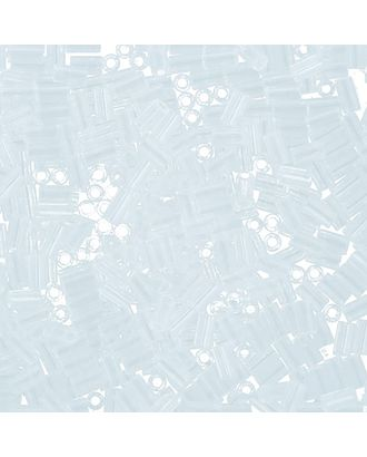 """Бисер Япония """"TOHO"""" BUGLE №1  3 мм 5 х 5 г №0001 прозрачный арт. МГ-60327-1-МГ0678374"""