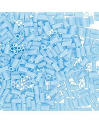 """Бисер Япония """"TOHO"""" BUGLE №2  3 мм 5 х 5 г №0043 голубой арт. МГ-60347-1-МГ0678396"""
