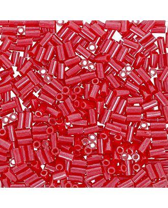 "Бисер Япония ""TOHO"" BUGLE №4  3 мм 5 х 5 г №0125 т. красный/перл арт. МГ-60379-1-МГ0678431"