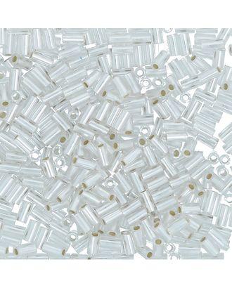 "Бисер Япония ""TOHO"" BUGLE №4  3 мм 5 х 5 г №0021F белый арт. МГ-60387-1-МГ0678439"