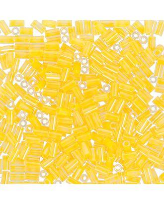 "Бисер Япония ""TOHO"" BUGLE №4  3 мм 5 х 5 г №0801 св. оранжевый/ неоновый арт. МГ-60399-1-МГ0678453"