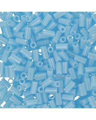 """Бисер Япония """"TOHO"""" BUGLE №3  3 мм 5 х 5 г №0124 голубой/перл арт. МГ-60407-1-МГ0678462"""