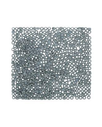 "Бисер Япония ""TOHO"" 11/0  круглый 1  2.2 мм 5 х 5 г №0053 св.серый арт. МГ-60466-1-МГ0678526"