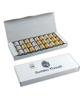 """Нитки для вышивания """"SumikoThread"""" JST1 50 100% шелк 250м цв.502 арт. МГ-73818-1-МГ0681563"""