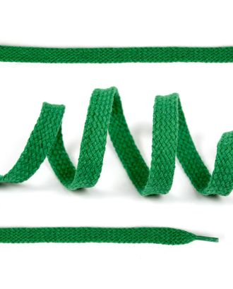 Шнурки плоские ш.1см х/б дл.150см цв.018 св.зеленый (10 комп) арт. МГ-10291-1-МГ0683324