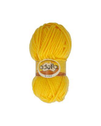 """Пряжа ADELIA """"RADA"""" (100% акрил) 10х100г/80м цв.003 желтый арт. МГ-61559-1-МГ0683447"""