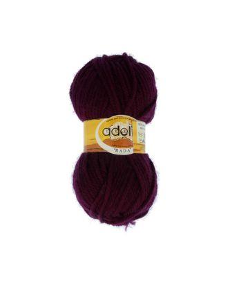 "Пряжа ADELIA ""RADA"" (100% акрил) 10х100г/80м цв.087 т.фиолетовый арт. МГ-61563-1-МГ0683453"