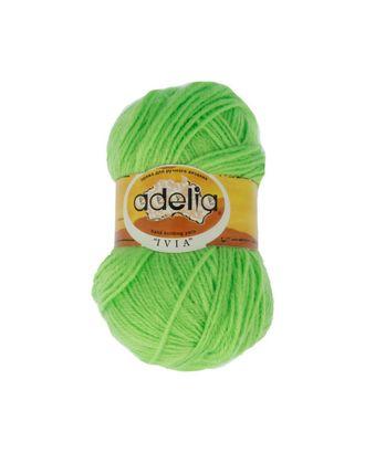 "Пряжа ADELIA ""IVIA"" (100% акрил) 4х62,5г/150м цв.129 св.зеленый арт. МГ-61582-1-МГ0683473"