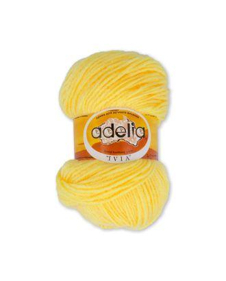 "Пряжа ADELIA ""IVIA"" (100% акрил) 4х62,5г/150м цв.107 св.желтый арт. МГ-61584-1-МГ0683476"