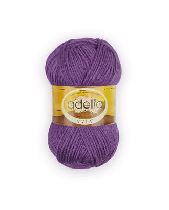 "Пряжа ADELIA ""IVIA"" (100% акрил) 4х62,5г/150м цв.448 фиолетовый арт. МГ-61591-1-МГ0683483"