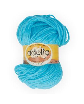 """Пряжа ADELIA """"IVIA"""" (100% акрил) 4х62,5г/150м цв.122 голубой арт. МГ-61593-1-МГ0683485"""