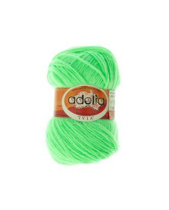 "Пряжа ADELIA ""IVIA"" (100% акрил) 4х62,5г/150м цв.109 неон.зеленый арт. МГ-61594-1-МГ0683486"