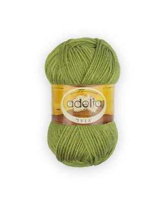 """Пряжа ADELIA """"IVIA"""" (100% акрил) 4х62,5г/150м цв.157 молодая зелень арт. МГ-61601-1-МГ0683493"""