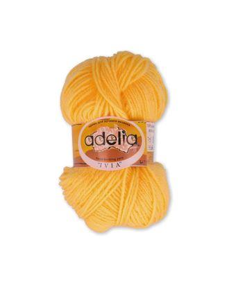 "Пряжа ADELIA ""IVIA"" (100% акрил) 4х62,5г/150м цв.003 яр.желтый арт. МГ-61605-1-МГ0683498"