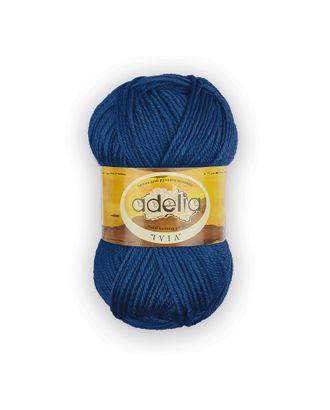 "Пряжа ADELIA ""IVIA"" (100% акрил) 4х62,5г/150м цв.451 т.синий арт. МГ-61608-1-МГ0683501"