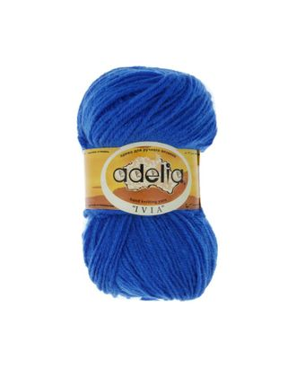 """Пряжа ADELIA """"IVIA"""" (100% акрил) 4х62,5г/150м цв.454 яр.синий арт. МГ-61610-1-МГ0683503"""