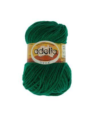 "Пряжа ADELIA ""IVIA"" (100% акрил) 4х62,5г/150м цв.446 яр.зеленый арт. МГ-61613-1-МГ0683506"