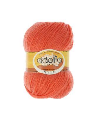 """Пряжа ADELIA """"IVIA"""" (100% акрил) 4х62,5г/150м цв.115 оранжевый арт. МГ-61616-1-МГ0683509"""