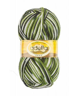 "Пряжа ADELIA ""ZENA"" (100% акрил) 5х100г/308м цв.86 салат,травяной,т.зеленый арт. МГ-61626-1-МГ0683520"