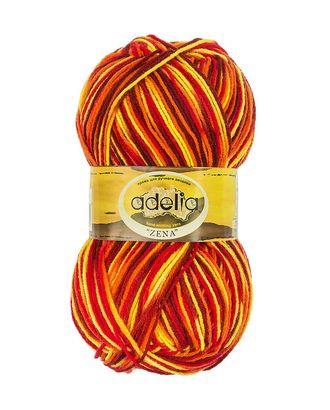 "Пряжа ADELIA ""ZENA"" (100% акрил) 5х100г/308м цв.69 желтый-красный-оранжевый арт. МГ-61633-1-МГ0683528"