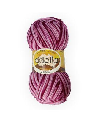 """Пряжа ADELIA """"ZENA"""" (100% акрил) 5х100г/308м цв.71 св.розовый-т.розовый-фиолетовый арт. МГ-61636-1-МГ0683531"""