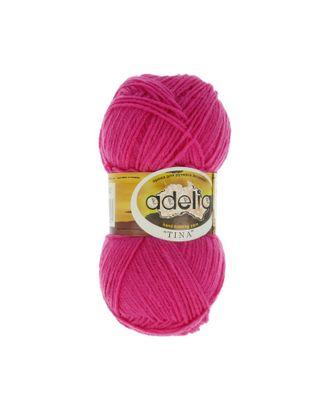 """Пряжа ADELIA """"TINA"""" (100% акрил) 5х100г/308м цв.162 яр.розовый арт. МГ-61640-1-МГ0684286"""