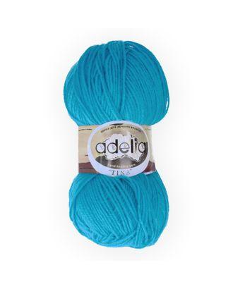 "Пряжа ADELIA ""TINA"" (100% акрил) 5х100г/308м цв.139 яр.голубой арт. МГ-61641-1-МГ0684287"