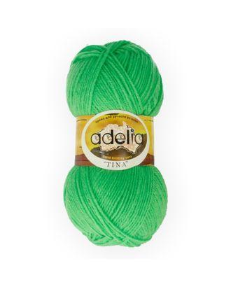 """Пряжа ADELIA """"TINA"""" (100% акрил) 5х100г/308м цв.065 яр.зеленый арт. МГ-61643-1-МГ0684289"""