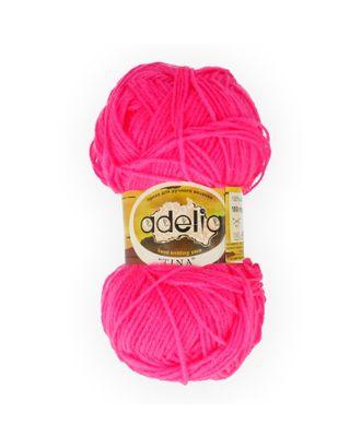 "Пряжа ADELIA ""TINA"" (100% акрил) 5х100г/308м цв.169 неон.розовый арт. МГ-61645-1-МГ0684291"