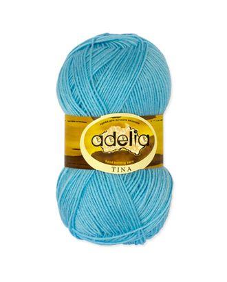 "Пряжа ADELIA ""TINA"" (100% акрил) 5х100г/308м цв.035 голубой арт. МГ-61647-1-МГ0684294"