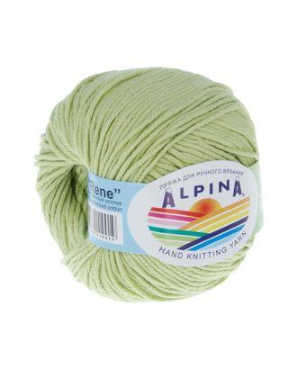 """Пряжа ALPINA """"RENE"""" (100% мерсеризованный хлопок) 10х50 г/105м цв.148 св.салатовый арт. МГ-62205-1-МГ0685817"""
