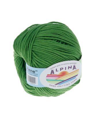 "Пряжа ALPINA ""RENE"" (100% мерсеризованный хлопок) 10х50 г/105м цв.156 зеленый арт. МГ-62214-1-МГ0685826"