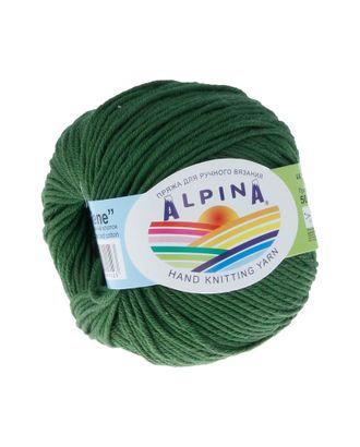 "Пряжа ALPINA ""RENE"" (100% мерсеризованный хлопок) 10х50 г/105м цв.987 т.зелёный арт. МГ-62216-1-МГ0685828"