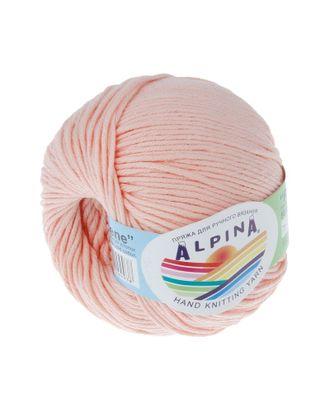 """Пряжа ALPINA """"RENE"""" (100% мерсеризованный хлопок) 10х50 г/105м цв.011 персиковый арт. МГ-62218-1-МГ0685830"""