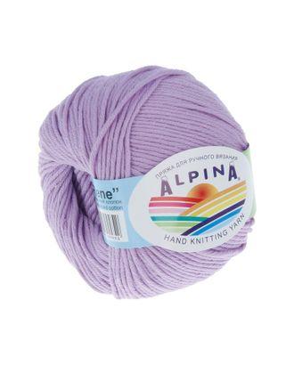 """Пряжа ALPINA """"RENE"""" (100% мерсеризованный хлопок) 10х50 г/105м цв.053 сиреневый арт. МГ-62220-1-МГ0685832"""
