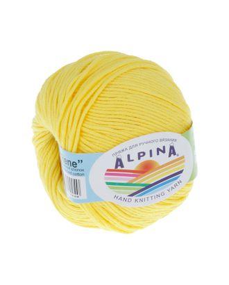 """Пряжа ALPINA """"RENE"""" (100% мерсеризованный хлопок) 10х50 г/105м цв.179 яр.желтый арт. МГ-62226-1-МГ0685842"""