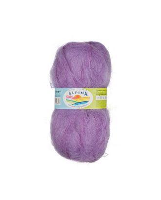 """Пряжа ALPINA """"JENNY"""" (78% мохер, 22% нейлон) 3х50г/450м цв.06 св.фиолетовый арт. МГ-62309-1-МГ0685932"""