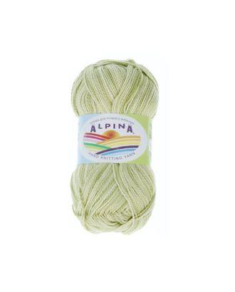 """Пряжа ALPINA """"HOLLY MELANGE"""" (100% мерсеризованный хлопок) 10х50г/200м цв.03 зеленый/св.зеленый арт. МГ-62325-1-МГ0685951"""