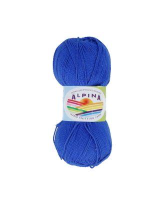 """Пряжа ALPINA """"HOLLY"""" (100% мерсеризованный хлопок) 10х50г/200м цв.546 яр.синий арт. МГ-62348-1-МГ0685975"""