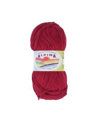 "Пряжа ALPINA ""XENIA"" (100% мерсеризованный хлопок) 10х50г/240м цв.178 бордовый арт. МГ-62431-1-МГ0686069"