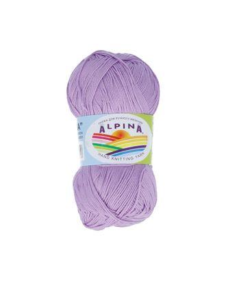 "Пряжа ALPINA ""XENIA"" (100% мерсеризованный хлопок) 10х50г/240м цв.171 сиреневый арт. МГ-62432-1-МГ0686070"