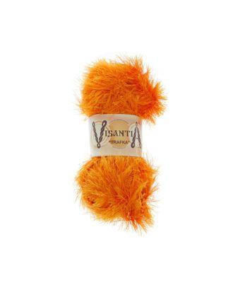 """Пряжа VISANTIA """"TRAFKA"""" (100% полиэстер) 5х100г/150 м цв.0103 яр.оранжевый арт. МГ-62765-1-МГ0689779"""