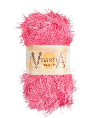 """Пряжа VISANTIA """"TRAFKA"""" (100% полиэстер) 5х100г/150 м цв.0016 розовый арт. МГ-62769-1-МГ0689783"""