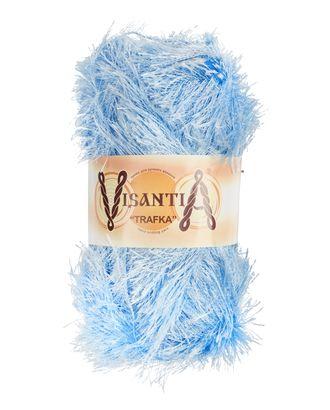 """Пряжа VISANTIA """"TRAFKA"""" (100% полиэстер) 5х100г/150 м цв.0007 голубой арт. МГ-62774-1-МГ0689790"""