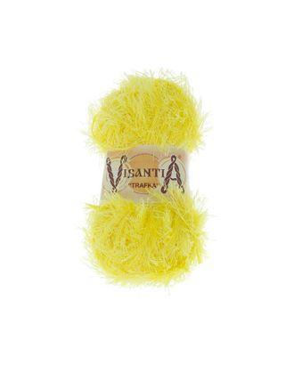"""Пряжа VISANTIA """"TRAFKA"""" (100% полиэстер) 5х100г/150 м цв.0057 яр.желтый арт. МГ-62776-1-МГ0689792"""