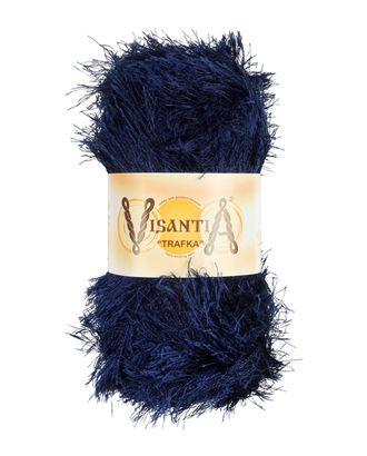 """Пряжа VISANTIA """"TRAFKA"""" (100% полиэстер) 5х100г/150 м цв.0005 синий арт. МГ-62778-1-МГ0689794"""