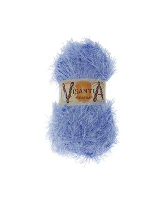 """Пряжа VISANTIA """"TRAFKA"""" (100% полиэстер) 5х100г/150 м цв.0067 голубой арт. МГ-62784-1-МГ0689801"""